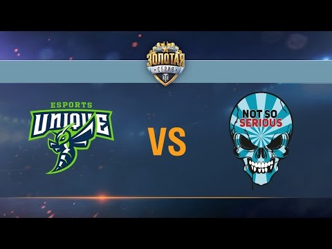 UNIQUE vs Not So Serious - day 1 week 8 Season II Gold Series WGL RU 2016/17