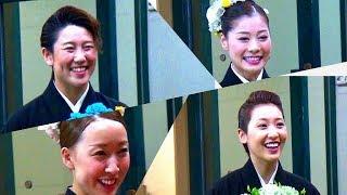 「大劇場卒業おめでとうございます」風馬翔さん、花咲あいりさん、朝日...