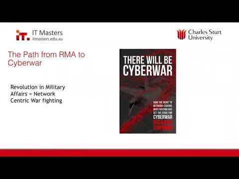 Free Short Course: Cyber Warfare and Terrorism Webinar #4 of 4