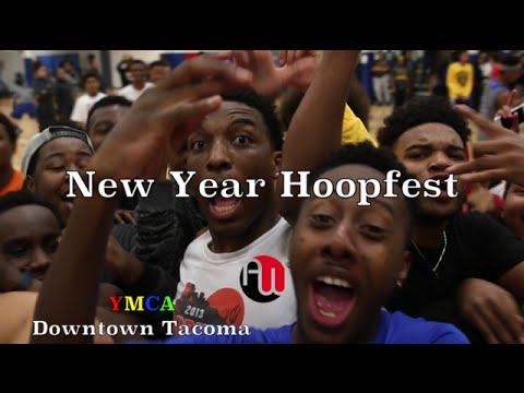 "Downtown Tacoma YMCA Late Nite ""New Year Hoopfest"""