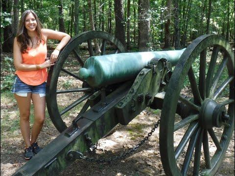 Chickamauga Civil War Battlefield National Military Park visit w/my Bride