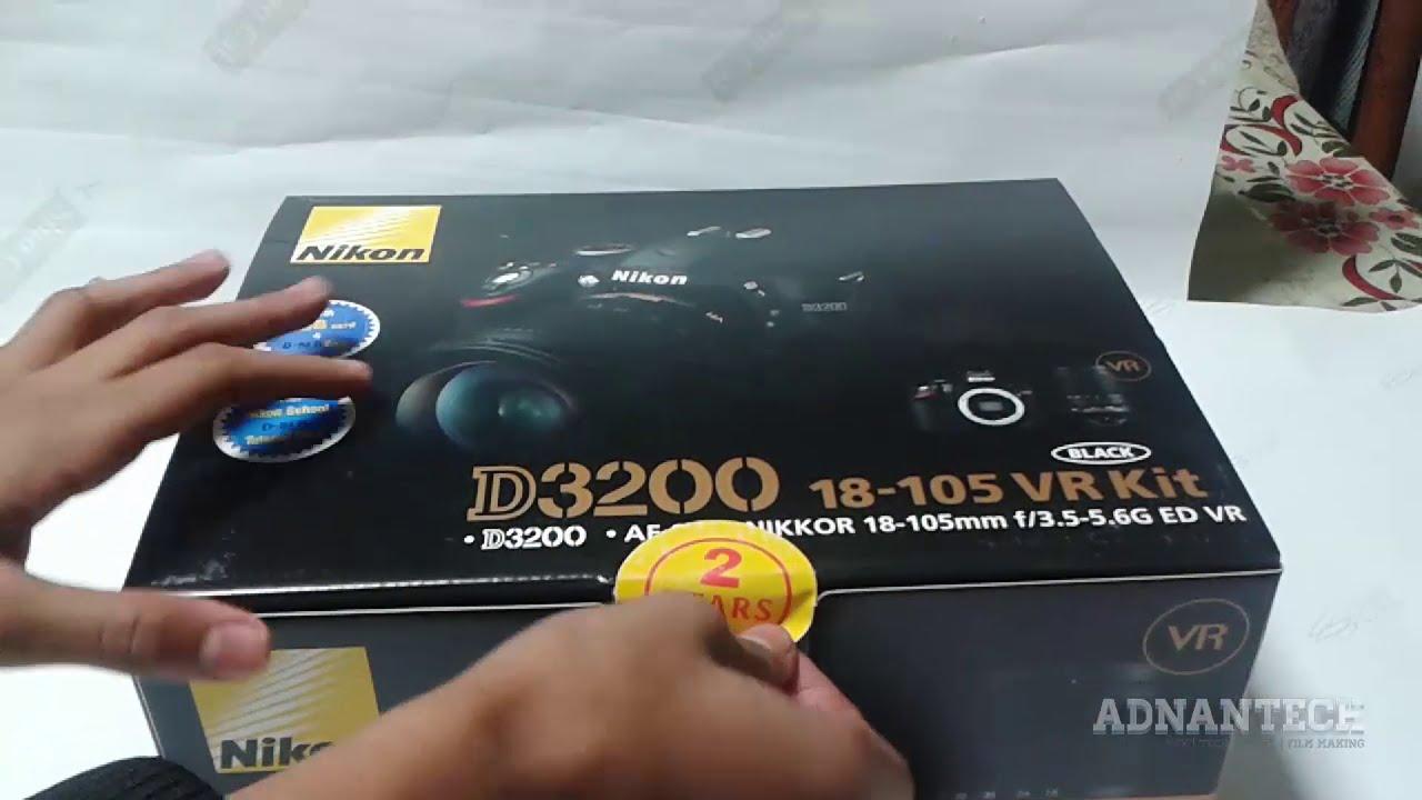 Nikon d3400 + af-p 18-55vr digital slr camera & lens kit black. Zoom lens ef-s 18-55 f/3. 5-5. 6 is ii, strap, battery charger, battery pack, 16 gb sd card.