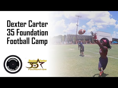 Basics for Youth Football | Prep with NFL Players | Carter Football Camp