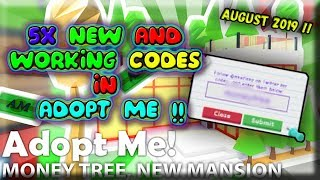 ADOPT ME NEW CODES !! ( 5x New Codes ) / August 2019 / Roblox