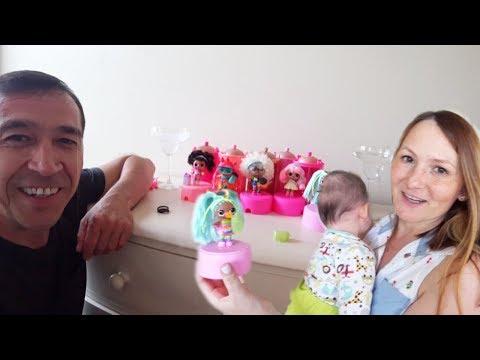 VLOG Самая Любимая #Кукла Лол Сюрприз нашей Мамы! Малыш Стивен/ Май Тойс Пинк/ Папа Потап