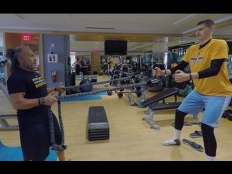 NBA 360 - Denver Nuggets' Steve Hess, Nikola Jokic, and Austin Mills Discuss Nutrition