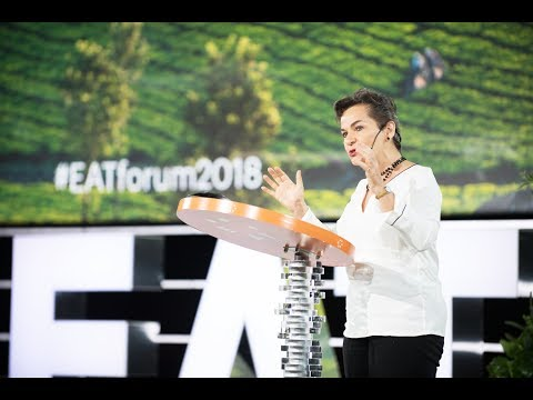 Food and Climate Change Inextricably Linked | Christiana Figueres |EAT Forum 2018