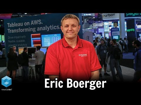 Eric Boerger, McAfee | AWS re:Invent 2018