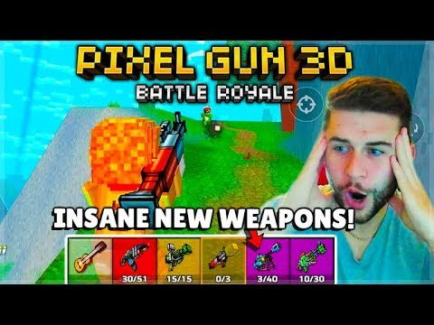 OMG! THEY ADDED X-RAY WEAPONS & OP HEAVYS BATTLE ROYALE | Pixel Gun 3D