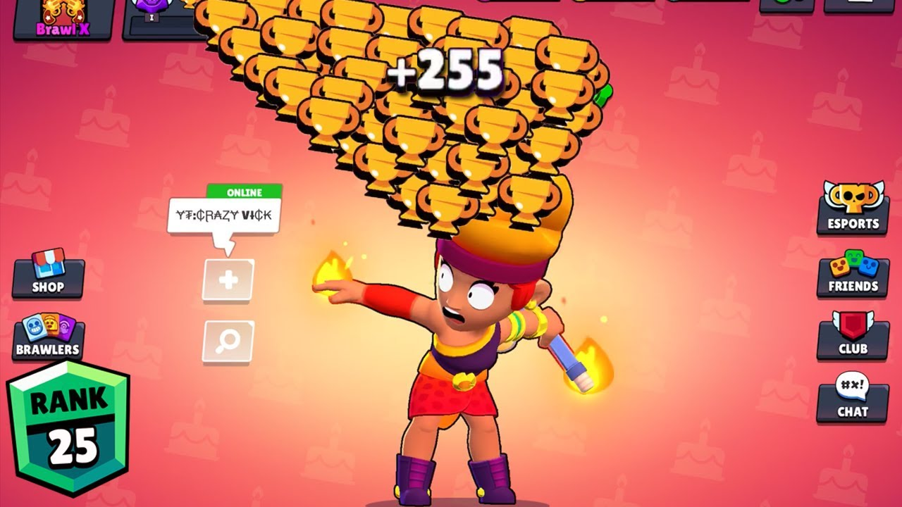 AMBER NONSTOP to 750 TROPHIES! Brawl Stars