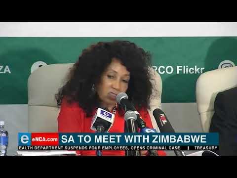 SA to meet with Zimbabwe