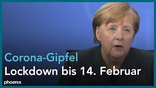 Nach den gesprächen mit bundeskanzlerin angela merkel und 16 länderchefs äußern sich die kanzlerin sowie berlins regierender bürgermeister michael müller...