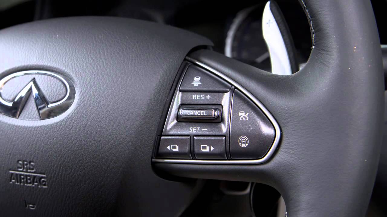 2015 Infiniti Q50 Intelligent Cruise Control Full Speed
