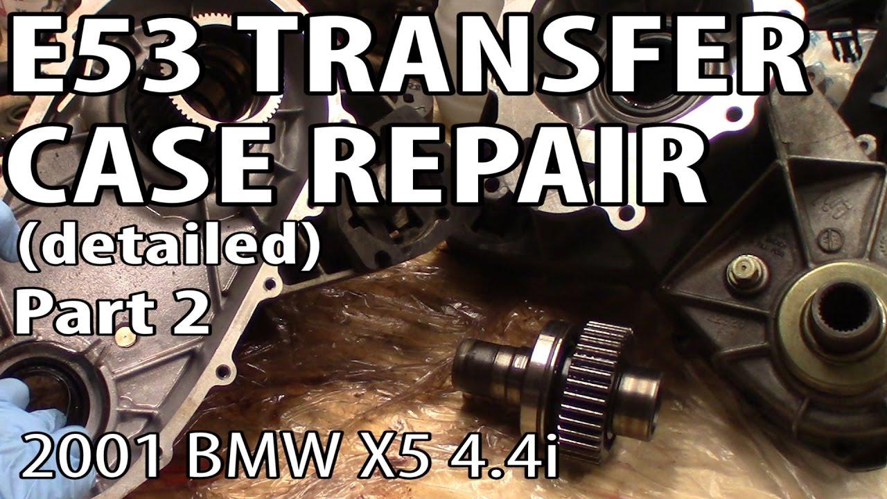 BMW X5 E53 Transfer Case Rebuild Step by Step - Part 2