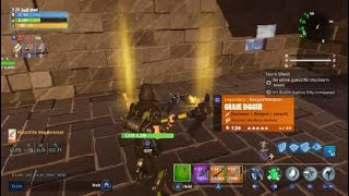 Fortnite PVE giveaway 2 grave diggers all gold rolls and full durability (ends at 50 subs)