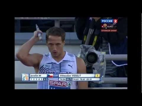 Javelin Men Final (21st European Athletics Championships, Helsinki, 2012)