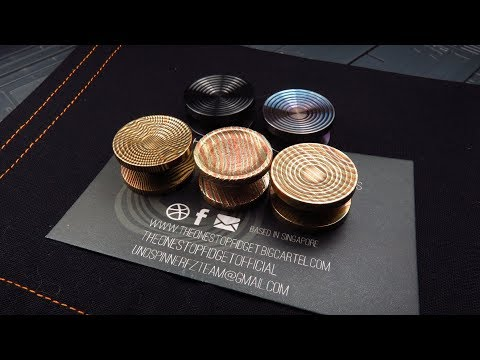 TheOneStopFidget Spinner Button Collection Review