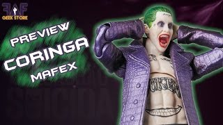 ACTION FIGURE CORINGA MAFEX FILME ESQUADRÃO SUICIDA - QUICK PREVIEW #3
