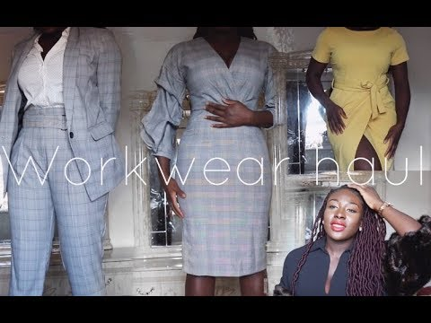 WORK WEAR / OFFICE WEAR  HAUL | MANGO | ZARA | H&M | DOROTHY PERKINS