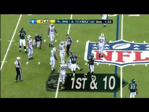 Matt Simms Jets Highlights - Preseason 2013 Game 4 vs Eagles All the throws