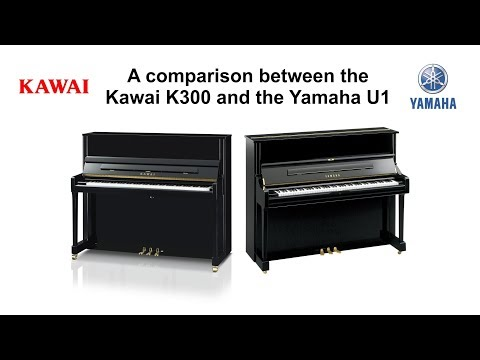 Comparing the Kawai K300 with the Yamaha U1 piano @ The Piano Shop Bath