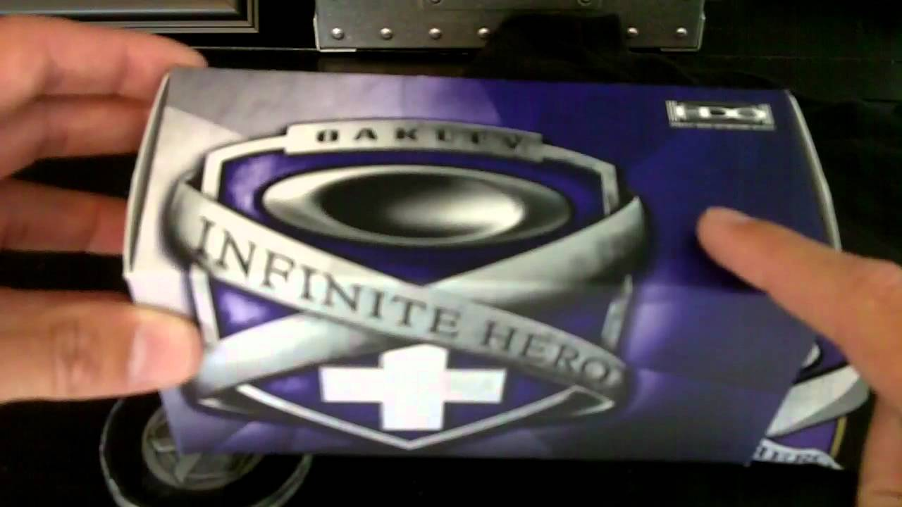 1a1ef512e0 Oakley Infinite Hero Collection - YouTube