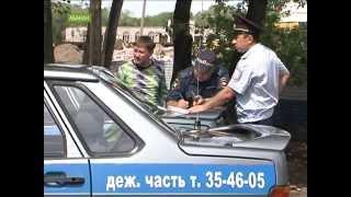 В Абакане водитель легковушки сбил дорожных рабочих