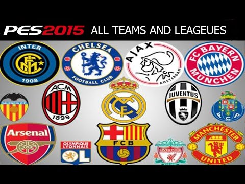 PES 2015 All Teams and Leagues