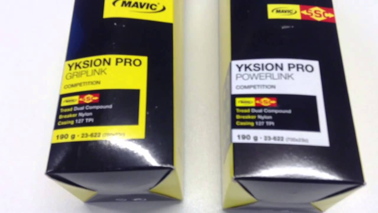 34084ce5868 Mavic Yksion Pro Griplink en Powerlink SSC belettering 700 x 23C Voor- en  Achterband