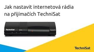 Internetová rádia na DVB-T2 přijímačích TechniSat