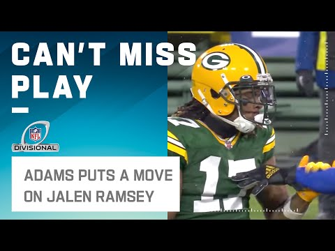 """Jalen Ramsey, Can I Have This Dance?"" - Davante Adams"