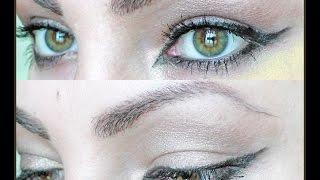 Как подчеркнуть зеленые глаза/Green eyes make up tutorial
