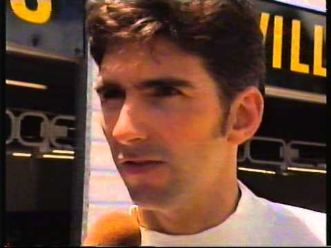 Damon Hill inteview before Qualifying 2, Adelaide Grand Prix 1995