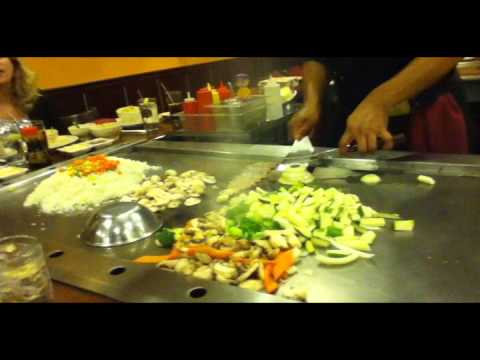 Hibachi Chef Tricks