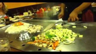Hibachi Chef Tricks