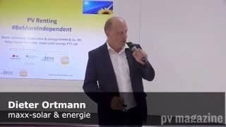 maxx-solar & energy – Pitch for Installation Innovation Award 2016