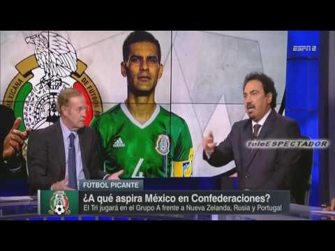 ¿A que aspira Mexico en la Copa Confederaciones 2017? - Futbol Picante