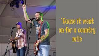Walker McGuire -Best Kinda Bad- Lyrics On Screen