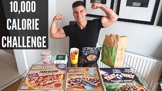 10,000 Calorie Challenge | EPIC Cheat Day