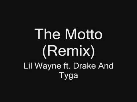 The Motto(remix) (Lyrics On Screen) Drake ft. Lil Wayne & Tyga
