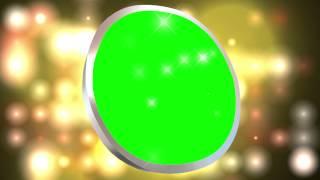 Video Circle Shine Green Screen Free Animation Effect Stock AA VFX