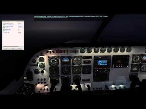 X-Plane 10 llegada y aproximación PAUN (Alaska), Carenado Cessna Grand Caravan FedEx.