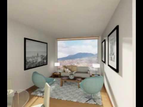 Apartamento nuevo en bogota 61m2 planos youtube for Planos de apartamentos modernos