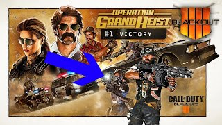 COD BO4 BLACKOUT - GHOST TOWN HUNT FOR NEW WEAPON // Operation GRAND HEIST