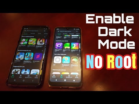 Enable Dark Mode/Night Mode On Most Android Devices (NO ROOT NEEDED)