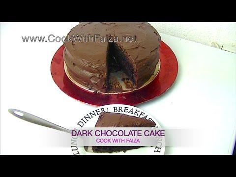 Cook With Faiza Chocolate Cake