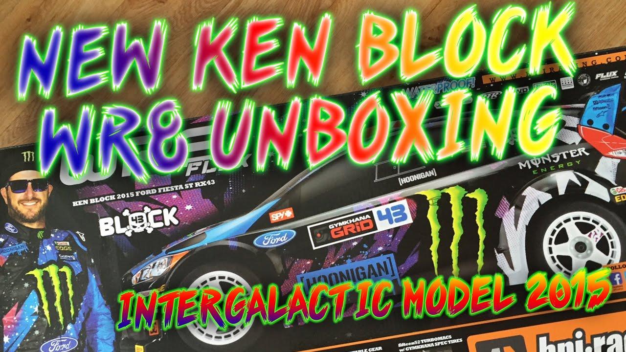 Hpi ken block wr8 intergalactic fiesta st rx43 wr8 flux unboxing youtube