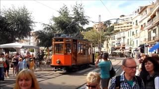 Straßenbahn Sóller (Mallorca) - Impressionen Oktober 2015