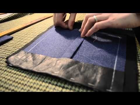 The Making of a Coat #6   Making Patch Pockets
