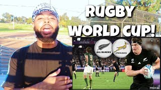 Football Fan Reacts To Rugby World Cup 2019 HIGHLIGHTS: New Zealand v South Africa